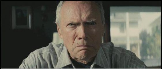 Eastwood en el papel de Walt Kowalski