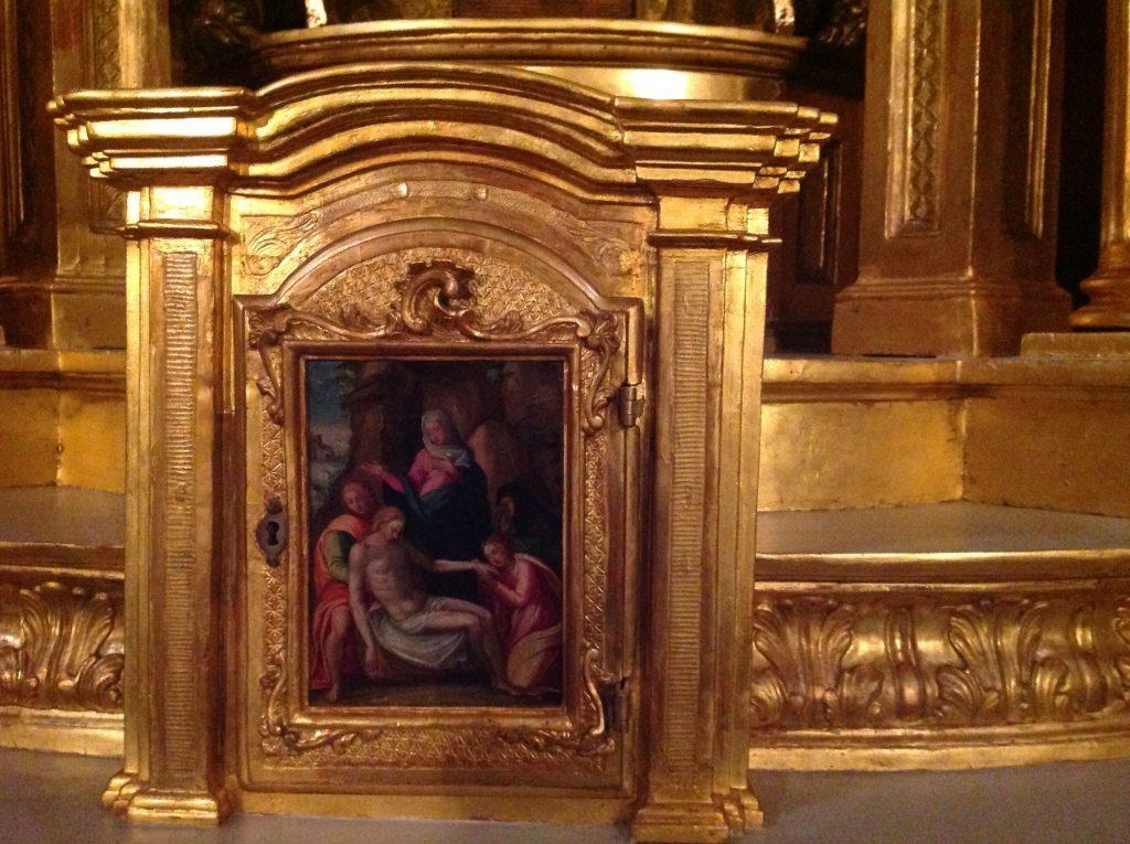 El Sagrario de la Iglesia de las Trinitarias