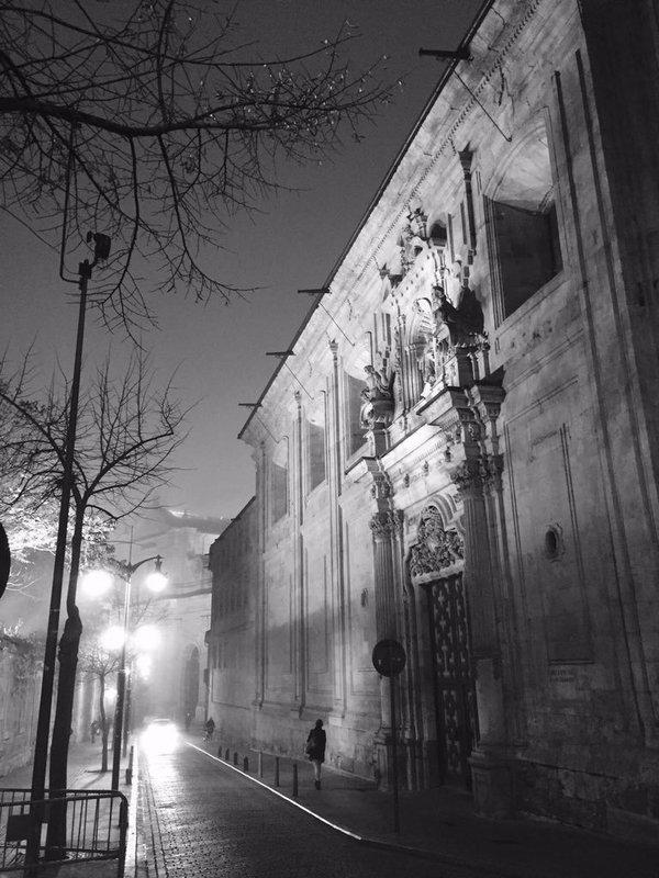 Salamanca a dos minutos de Bordadores. Foto de Elena Postigo