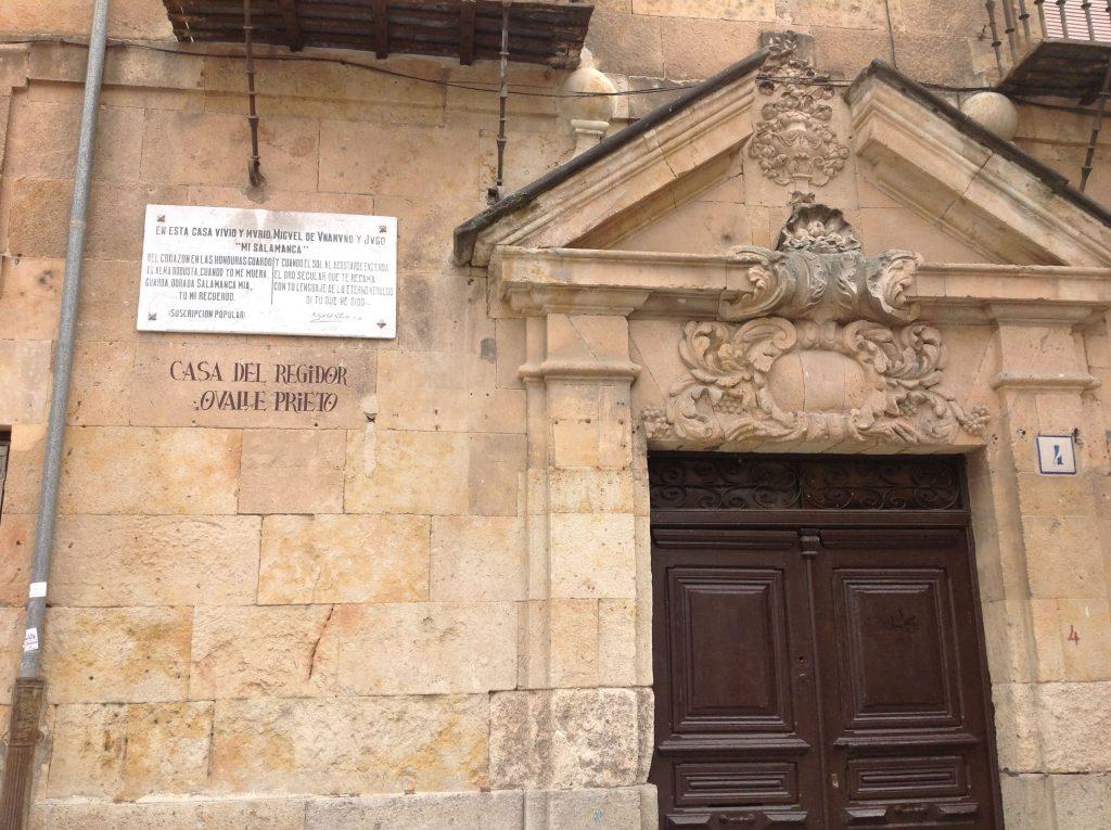 casa de Unamuno en Salamanca