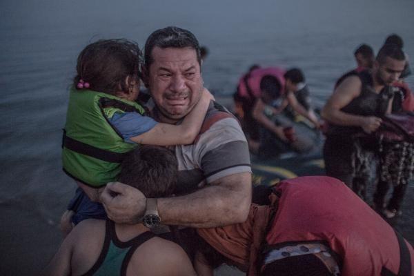 Emigrantes sirios en Grecia