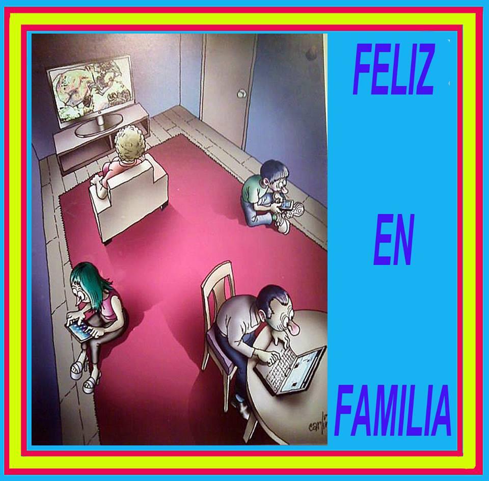 Feliz en familia