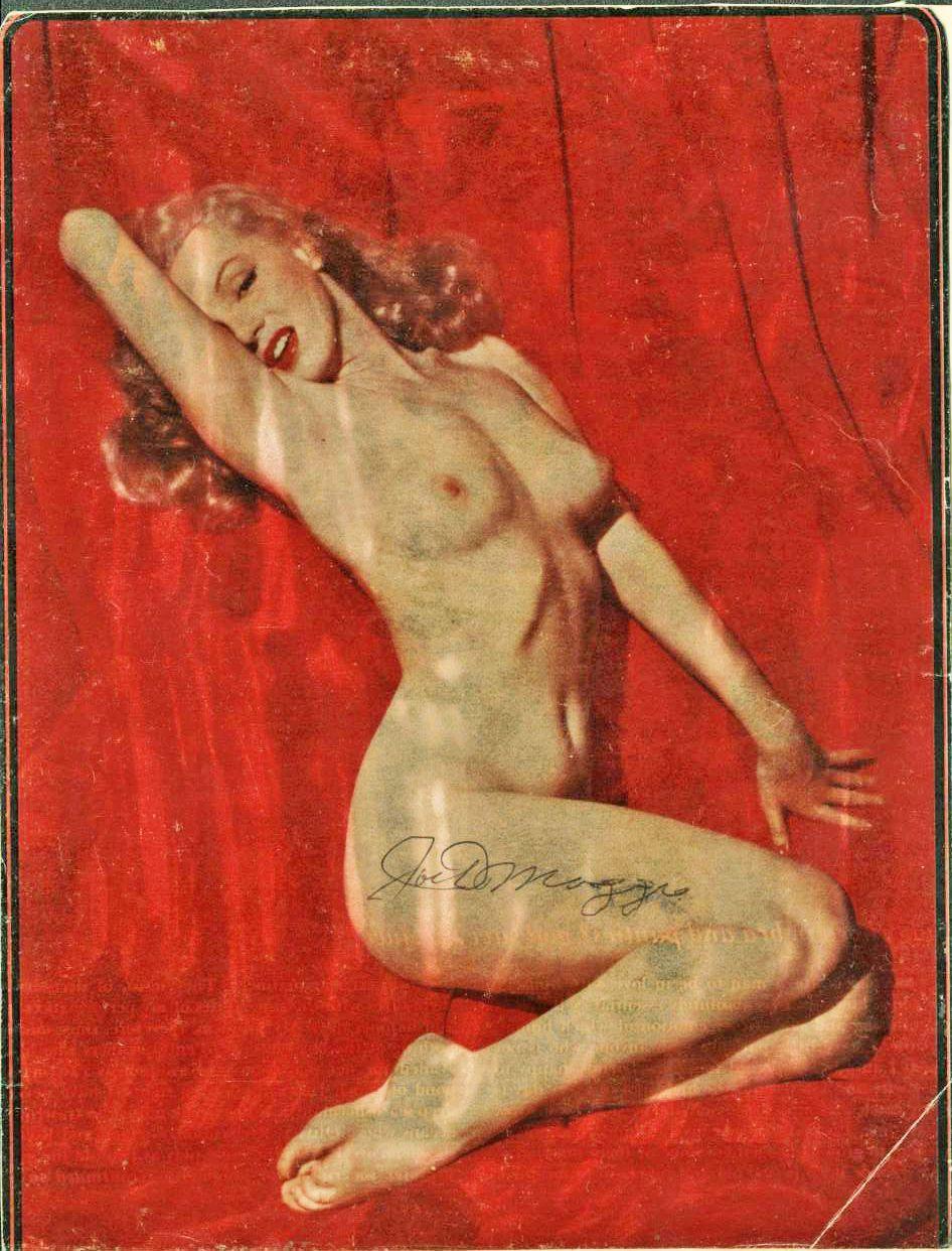 Marylin en el primer Playboy