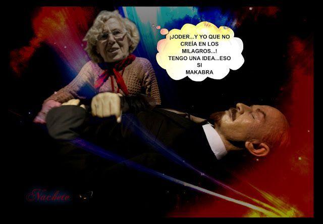 Carmena ...MARCHESE ... eso si a Benidoooor .... que es bueno,bonito y barato ...los milagros existen . Ilustración de José Ignacio Díaz Gómez http://joseignaciodiazgomez.blogspot.com.es/