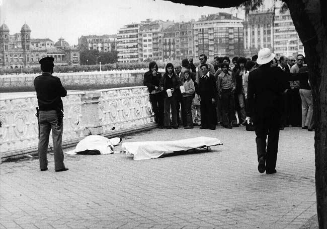 Atentado de ETA. La violencia fue una constante durante la presidencia de Rubial. Entre 1978 y 1979 la banda asesinó a 148 persona