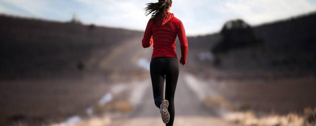 Girl Running Beautiful