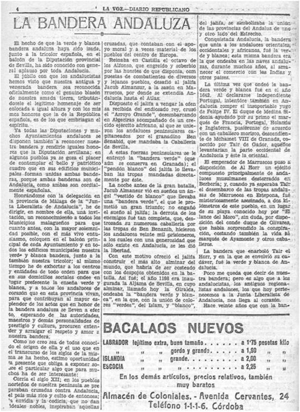 Diario Republicano La Voz (25/12/1932)
