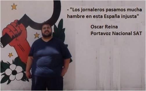 Oscar Reina, el actual portavoz de los separatistas andaluces