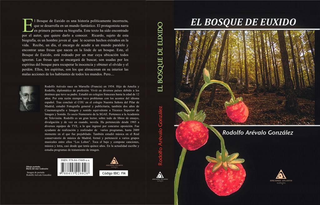 Portada de El Bosque de Euxido de Rodolfo Arévalo
