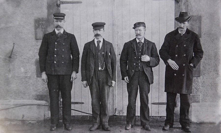 Los vigilantes James Ducat, Thomas Marshall y Donald McArthur simplemente habían desaparecido