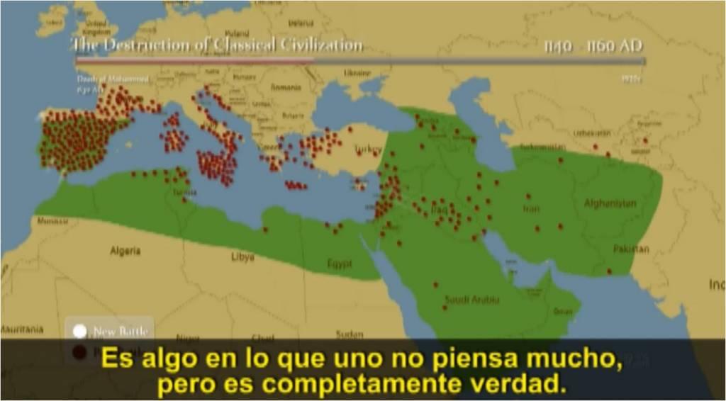 Pero la destrucción de la civilizacion occidental es algo en lo que no se piensa mucho