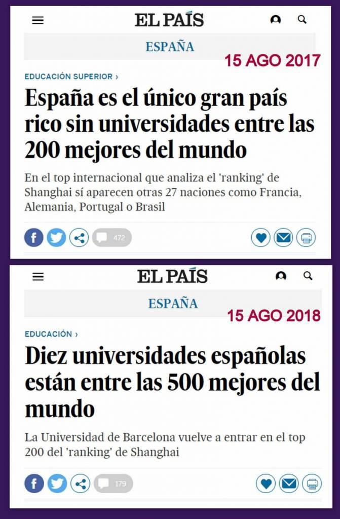 Cuando gobierna el @PPopular VS cuando gobierna el @PSOE.