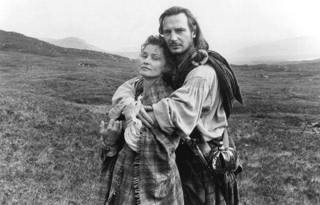 La historia novelada por Sir Walter Scott deRobert Roy McGreggor fué llevada al cine en 1995
