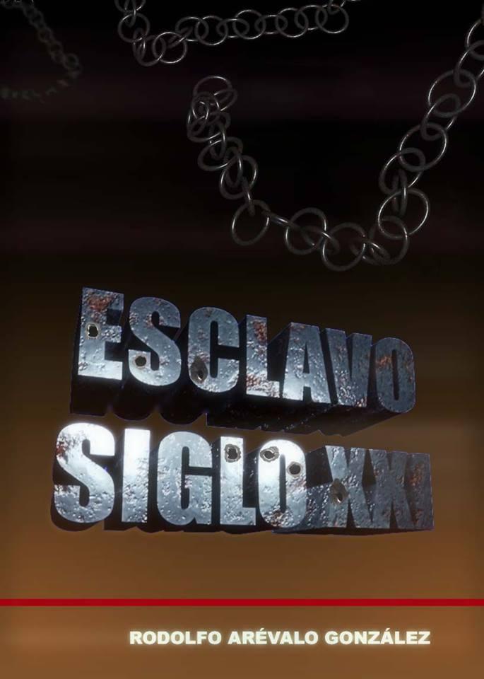 Boceto de la portada de esta segunda novela Esclavo del siglo XXI