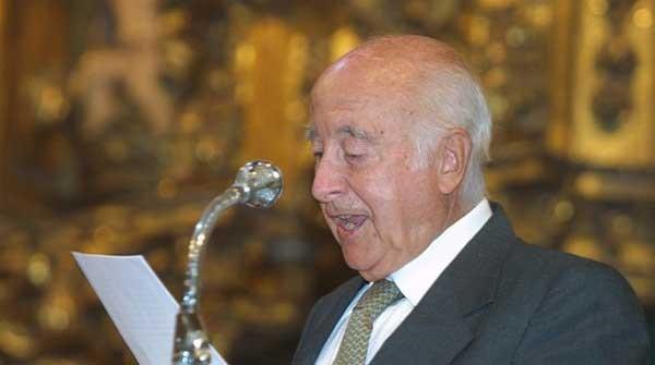 Faustino Menéndez Pidal de Navascués, Premio Príncipe de Viana de Cultura 2011