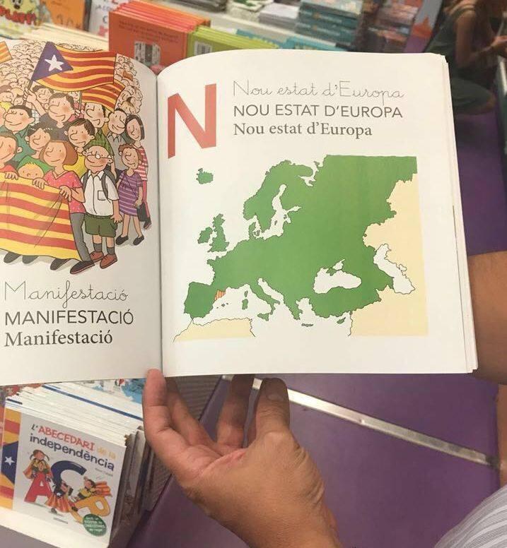 """No podía faltar con la """"N"""" para el nuevo estado de Europa, fíjense la mentira que inoculan."""