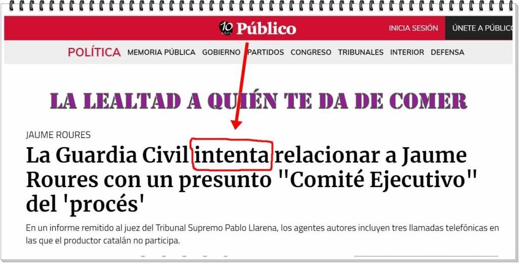 A Ana Pardo de Vera, directora de Público.es, se le podrá acusar de muchas cosas