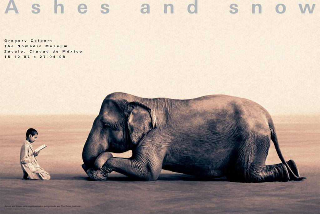 Ashes and Snow de Gregory Colbert