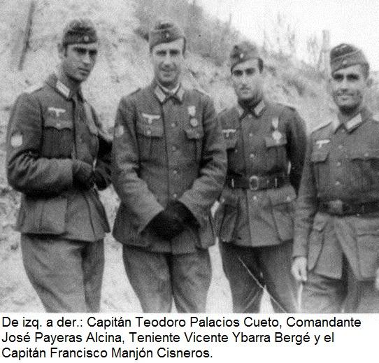 El Capitán Teodoro Palacios, combatiente de la División Azul y héroe de los gulags soviéticos