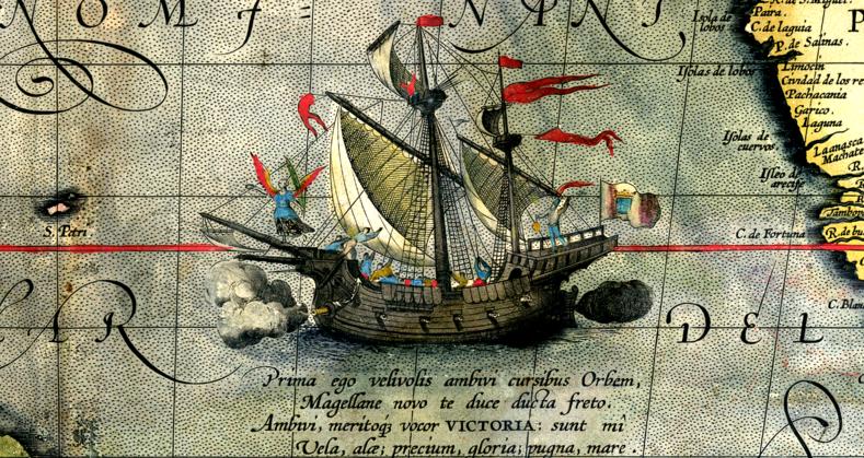 La Expedición de Magallanes-Elcano fue una expedición marítima comandada por Fernando de Magallanes y, tras su muerte, por Juan Sebastián Elcano