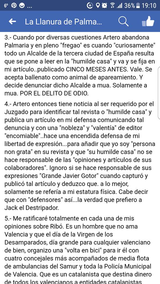 Escribe usted que ante su citación en el juzgado de Instrucción 14 de Valencia