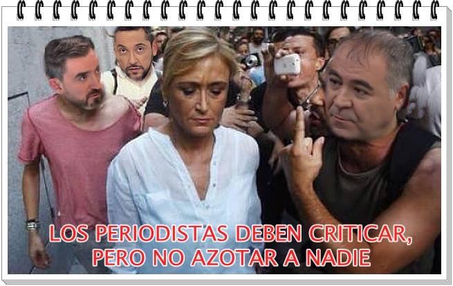 Los periodistas deben criticar pero no azotar a nadie Ferreras