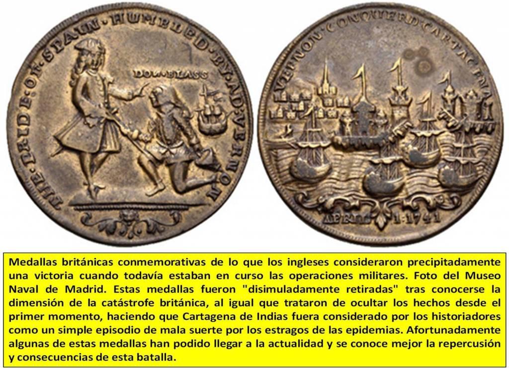 Medallas británicas conmemorativas