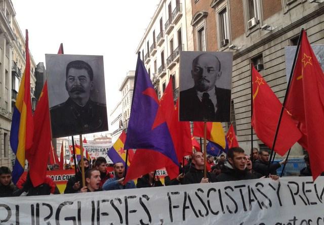 Comunistas nostálgicos del mayor fracaso de los gobiernos que han existido en el mundo