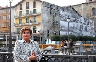 Pilar Elías, viuda de Ramón Baglietto. Foto: Manu Fernández