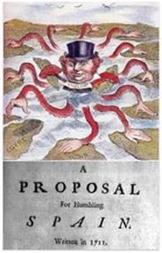 1711 – Pullen. Una propuesta para humillar a España