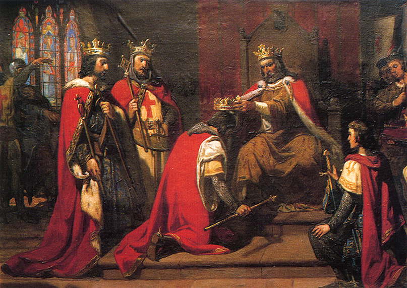 Alegoría del testamento de Sancho el Mayor