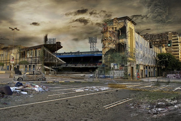 Estadio Insular apocalipsis