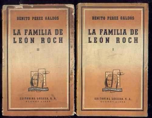 La Familia De León Roch de Benito Pérez Galdós