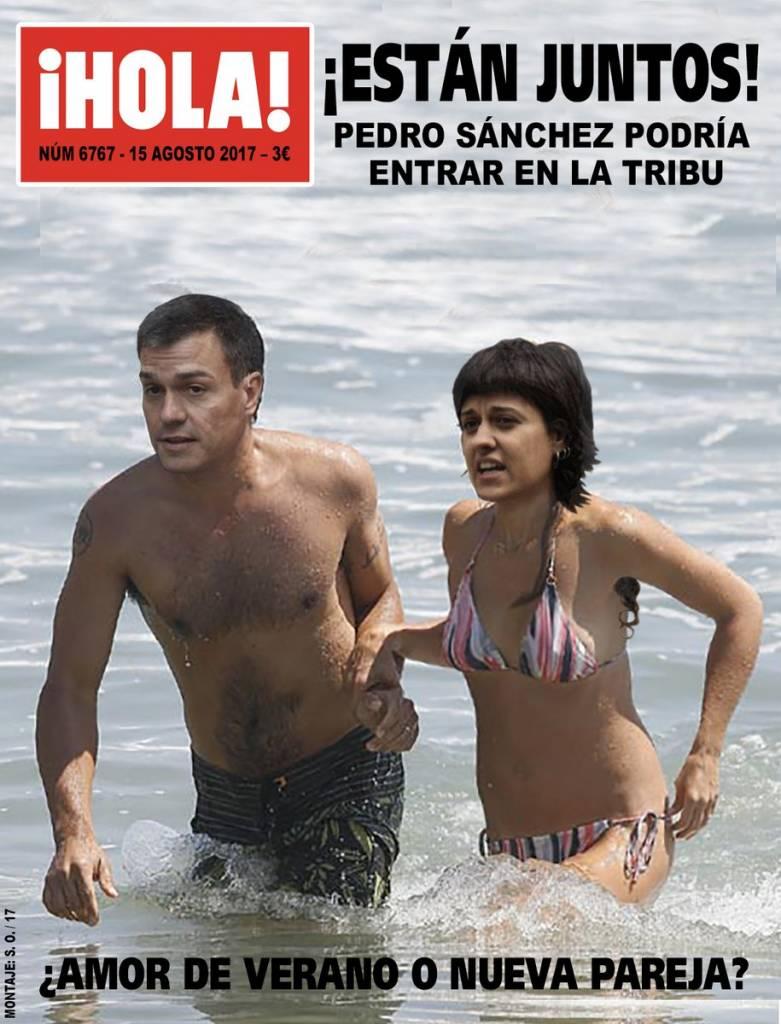 Los barones exigen a Sánchez que no haga concesiones a los independentistas. Ilustración de Santi Orue