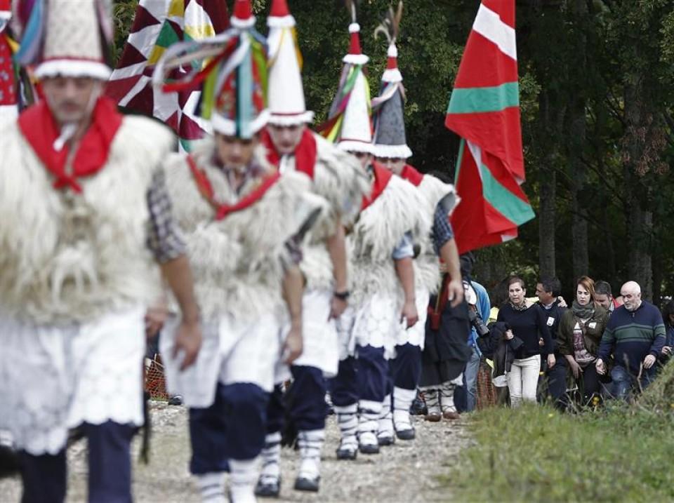 fiesta de las ikastolas de Navarra