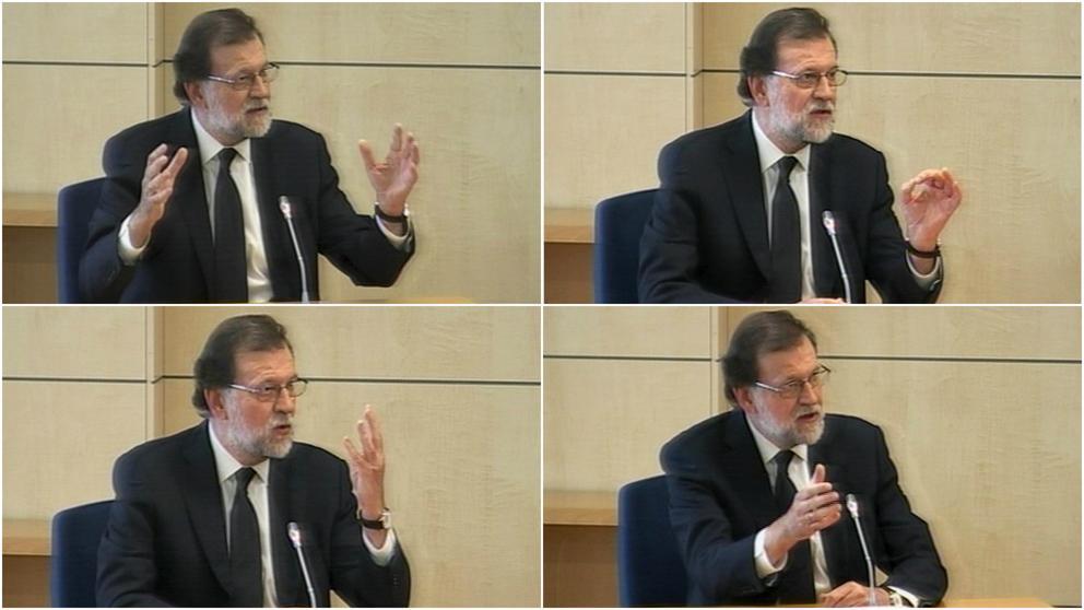 la declaración del presidente Rajoy en el 'caso Gürtel'