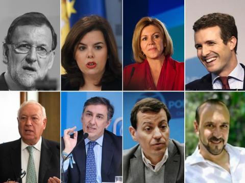 Candidatos a la presidencia del PP