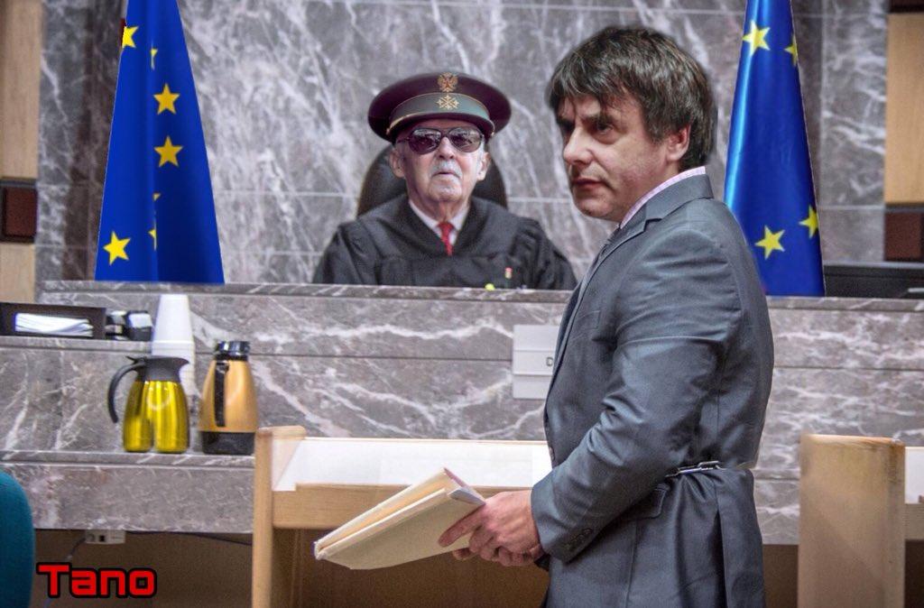 El Gobierno Sánchez o la Estética de echar huesos a los golpistas y mastines comunistas. Ilustración de Tano