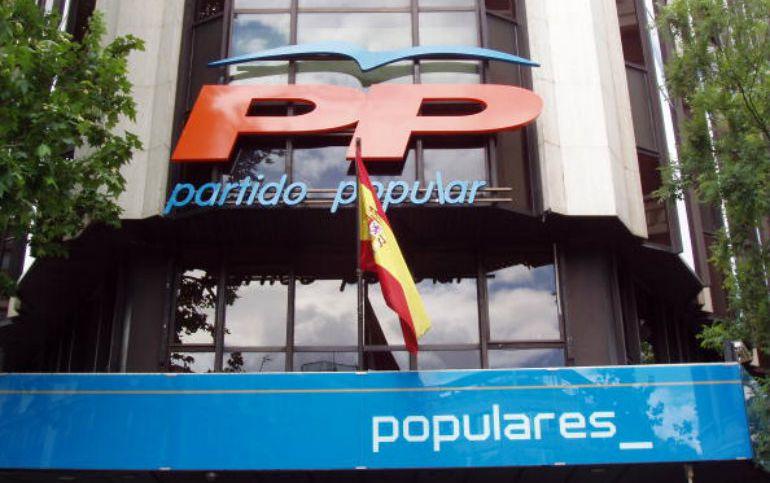 Imagen de la sede de los Populares en la calle Génova de Madrid