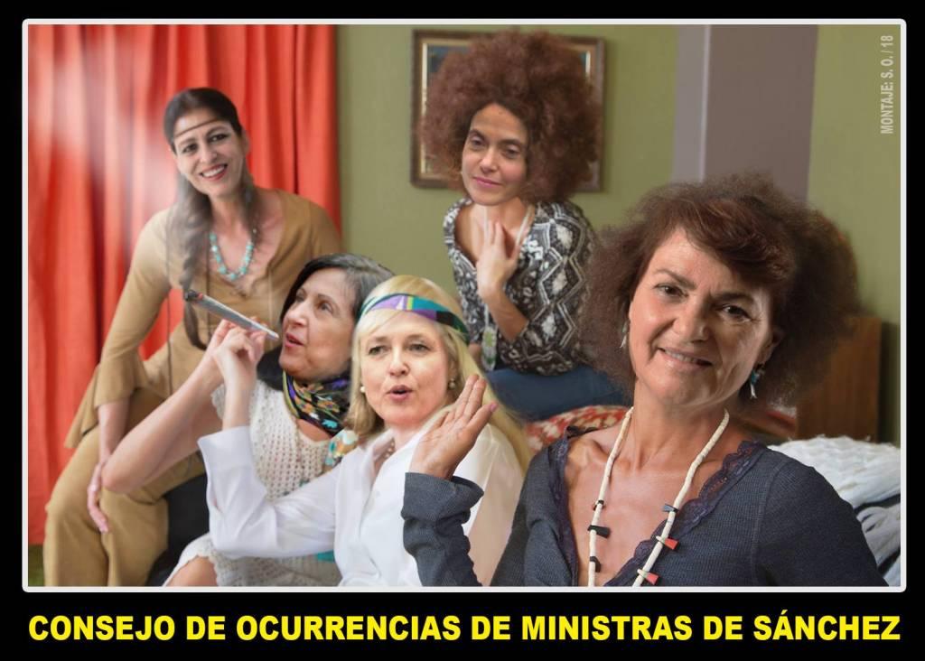 Consejo de Ocurerencias de Ministas de Sánchez. Por Santi Orue