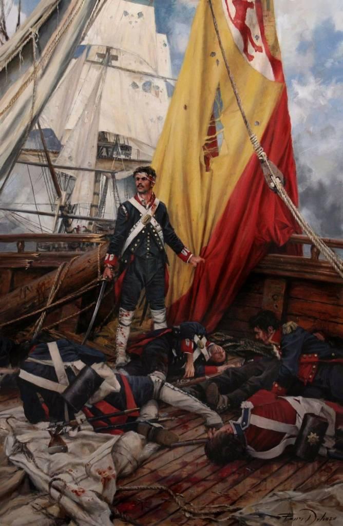 Martin Álvarez el héroe extremeño que defendió la bandera hasta el final