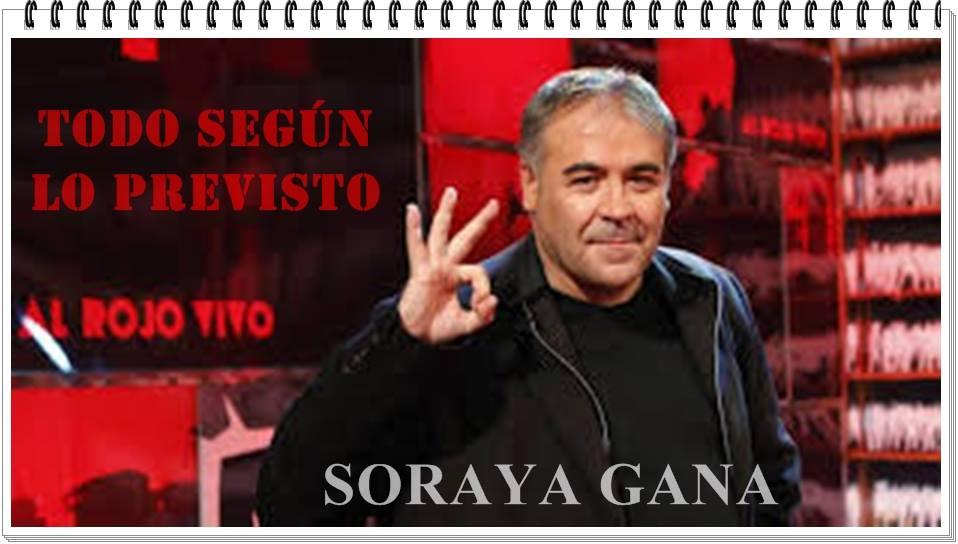 Sáenz de Santamaría gana la primera vuelta por 1.546 votos