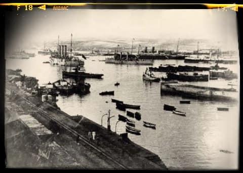 Y surge el paisaje –y el paisanaje– de la capital grancanaria de 1905
