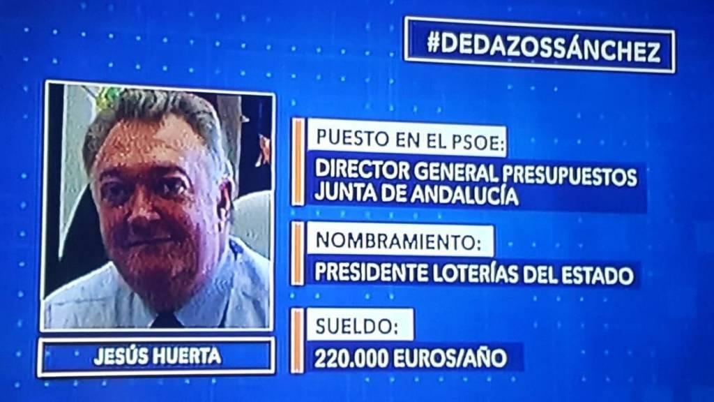 Dedazos Sánchez. Jesús Huerta