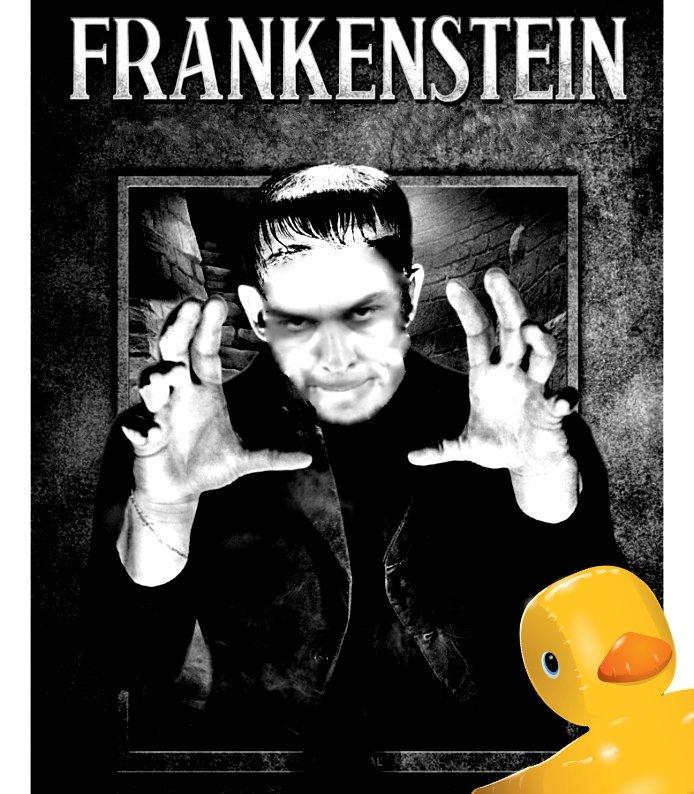 FrankenSánchez, próximamente en tus bolsillos. Ilustración de Linda Galmor