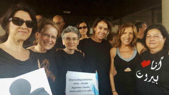 Los y las profesionales de TVE protestan en una nota por el mantenimiento del actual director al que acusan de ser el responsable de externalizar la producción de programas