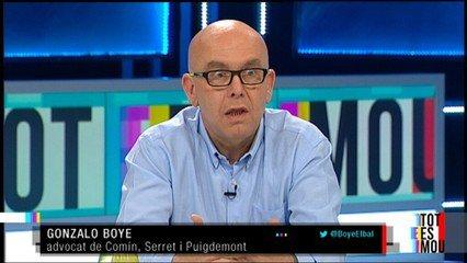 Gonzalo Boye falsedad documental y estafa procesal en la demanda contra Llarena