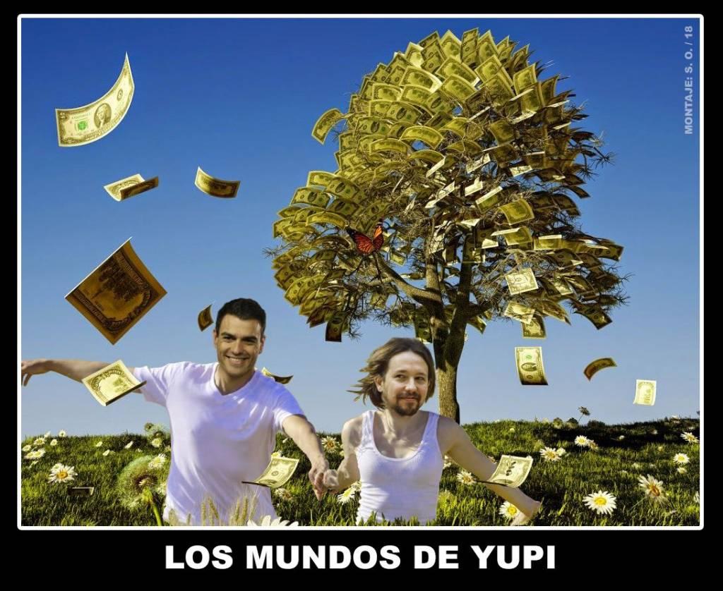 Iglesias ejerce como 'vicepresidente del gasto público' sin llegar a ningún acuerdo sobre cómo pagarlo. Por Santi Orue