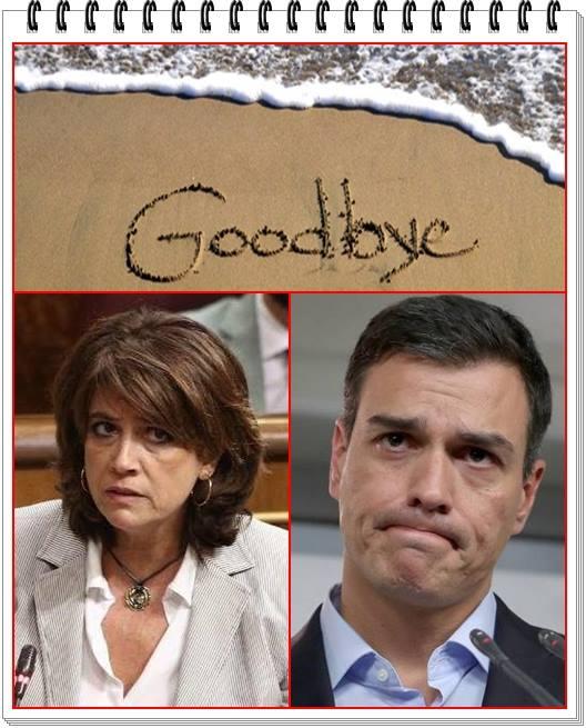 Pedro Sánchez respalda a su ministra Dolores Delgado. lo que significa...