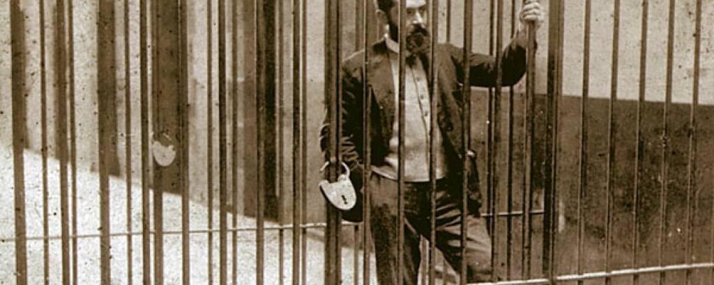 Sabino Arana, en la cárcel de Larrinaga (1902)